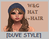 W&G HAT + HAIR