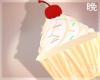 晚 Vanilla Cupcake