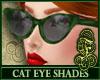Cat Eye Shades Green