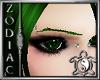 Zodiacs Green eyebrows