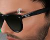 Silver Eyebrow Ring  L