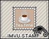 Stamp~Tea Time