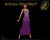 Regal Glitz Dress Purple
