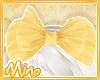 Cute Vanilla Bow