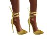 -AD-  Golden DIVA heels