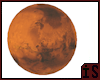 mars planet in space