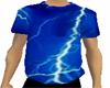 ♛ Blue Lightning Shirt