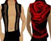Red Rose Muscle Shirt