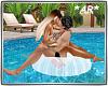 *AR* Pool Ring Kiss