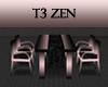 T3 Zen Sakura Dining Set
