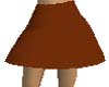 Brown Flirt Skirt
