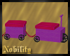 Purple Child Train Couch