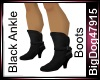 [BD] Black Ankle Boots