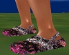 Pink Camo Crocs