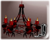 Red Spider Chandelier