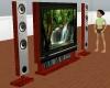 Mahogany Television