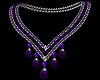 Z Passion Purple Necklac