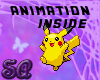|SA| Animated Pikachu