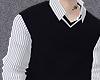stripe shirt & sweater