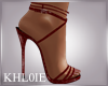 K lea red heels