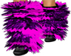 *SL* Furry Boots Pink