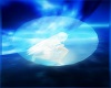 Andriod blue white  ball