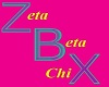 Zeta Beta Chi HairHolder