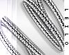 ! L! Silver Bracelet . R