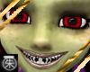 }T{ Demon eyes and teeth