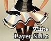 Layerable Skirt White