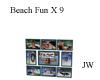 JW Beach Fun X9