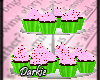 Watermelon theme cupcake