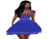 Nyawr Party Blue Dress