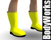Electric Yellow Boots