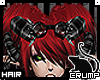 [C] Crimson bangs