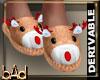 DRV Reindeer Slippers