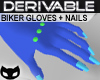 [SIN] Der. Biker Gloves