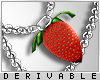 0 | Strawberry Necklace