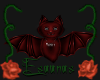 Red Vampy Bat sticker