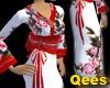 Chinese white skirt 2