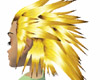 Gold fury hair