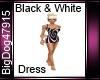 [BD] Black&White Dress
