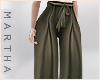 ( Silk Flares ) Khaki