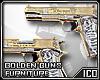 ICO Furniture Gold Guns