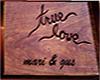 true love MARI  & GUS