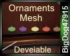 [BD] Ornaments Mesh
