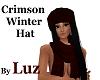 Crimson Winter Hat