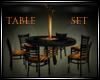 *TJ*Halloween Table Set