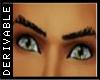(H) Egoiste-DRV eyebrow