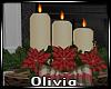 *O* Cozy Xmas Candles